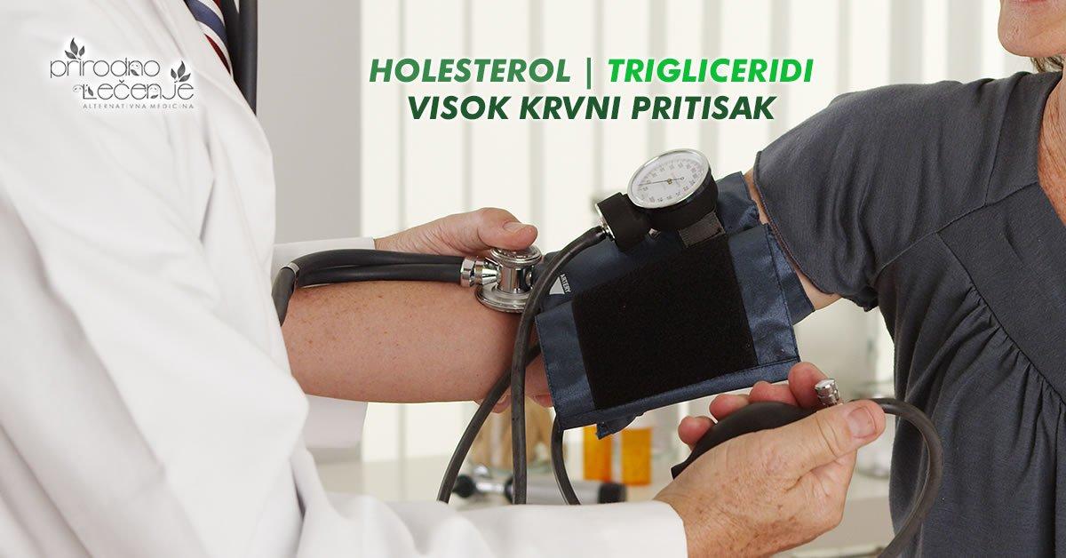 holesterol trigliceridi visoko krvni pritisak