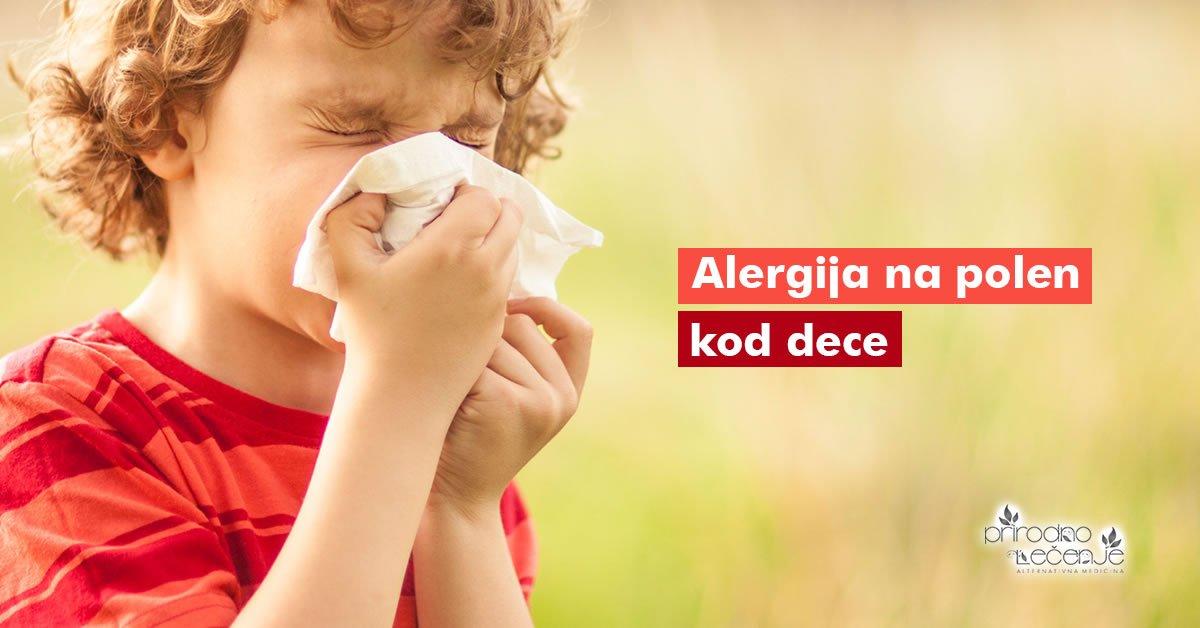 alergija-na-polen-kod-dece