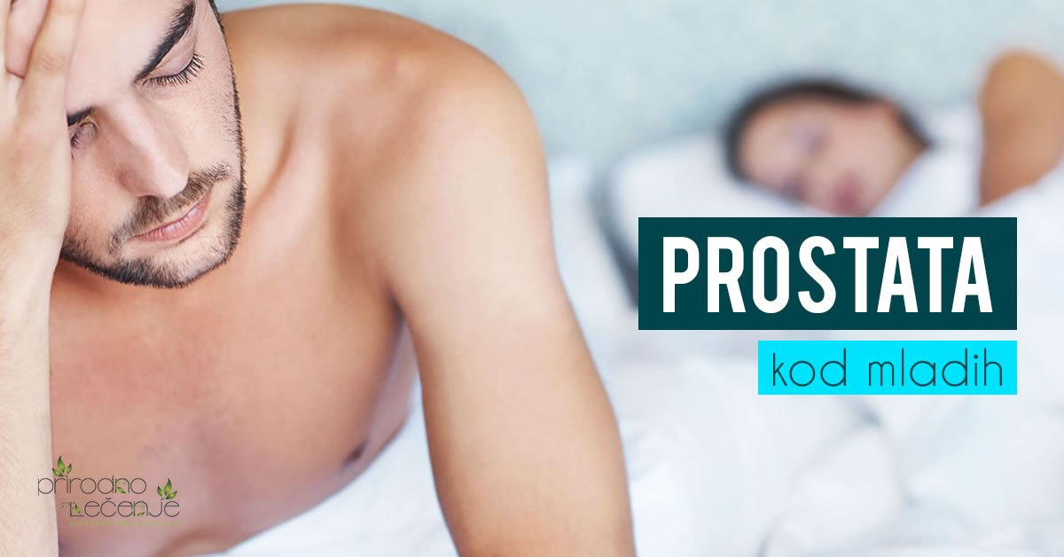 prostata kod mladih ljudi