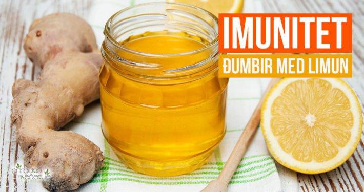 Djumbir med i limun za imunitet